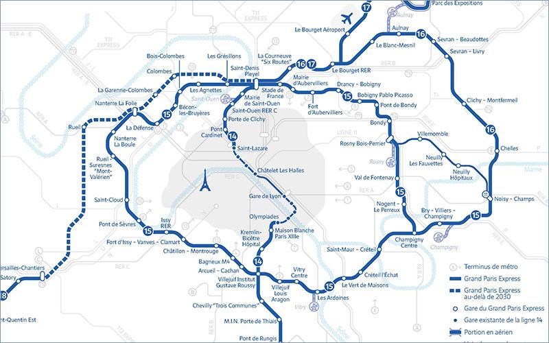Ligne 14 sud du métro automatique – Transamo